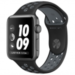 Часы Apple Watch Series 2 42mm with Anthracite/Black Nike Sport Band