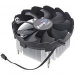 Cooler AeroCool, for Socket 1156/1155/1151/1150, Bas, 100W, 9cm fan, 1200rpm, 55.6CFM, 3pin