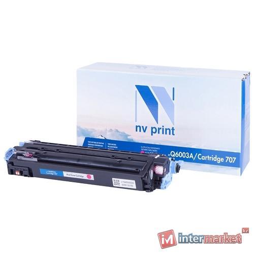 Картридж NV Print Q6003A/707 Magenta для HP и Canon